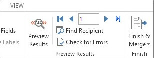 Mail merge using an Excel spreadsheet - Xl in Excel